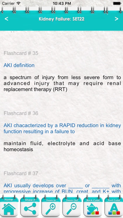 Kidney Failure: 3000 Flashcards screenshot-0