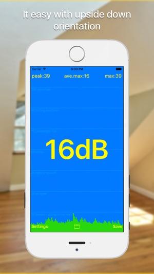 dB meter - medição de ruído Screenshot