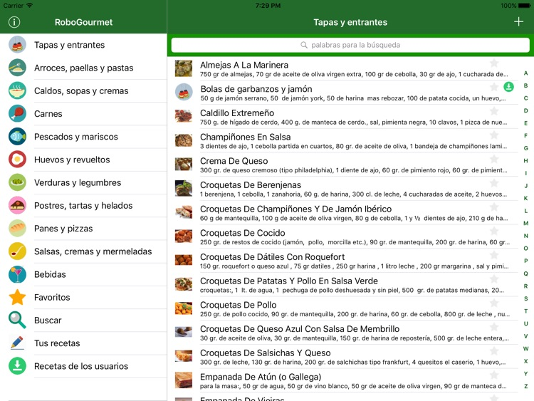 RoboGourmet: Recetas Thermomix para iPad screenshot-4