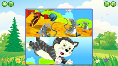 Animal & Zoo Jigsaw Cartoon Puzzle For Kids screenshot three