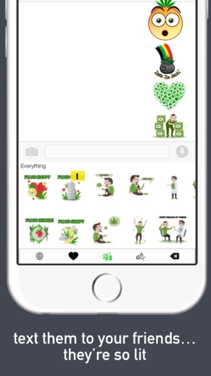 Stonermoji - Smoke Emojis Keyboard For Stoner Emoji Friends