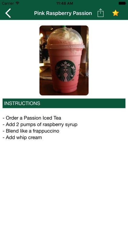Best Secret Menu for Starbucks & Store Locator