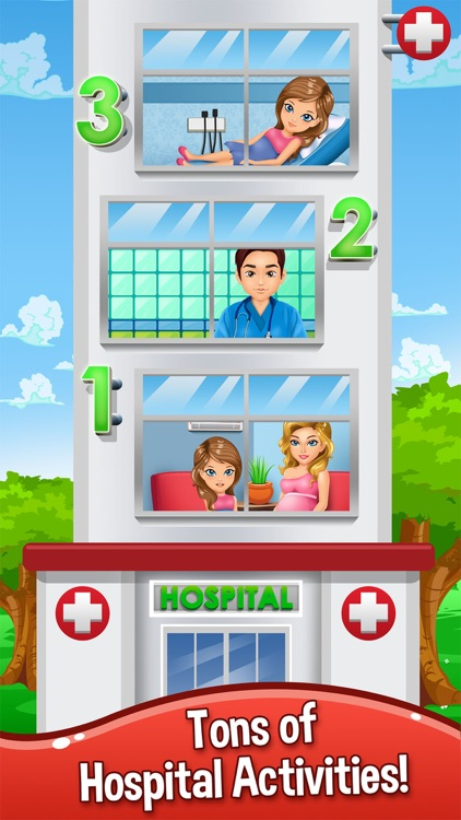 Baby Doctor Salon Spa Makeover Kid Games Free screenshot-4