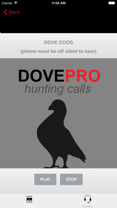 REAL Dove Sounds and Dove Calls for Bird Hunting! screenshot two