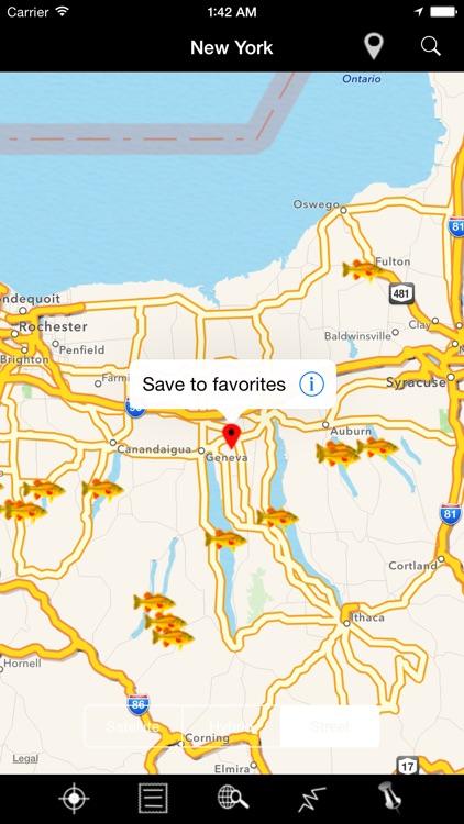 New York: Lakes & Fishes screenshot-4