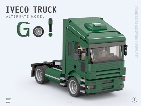 Iveco Truck For Lego Creator 10242 Set Building Instructions App