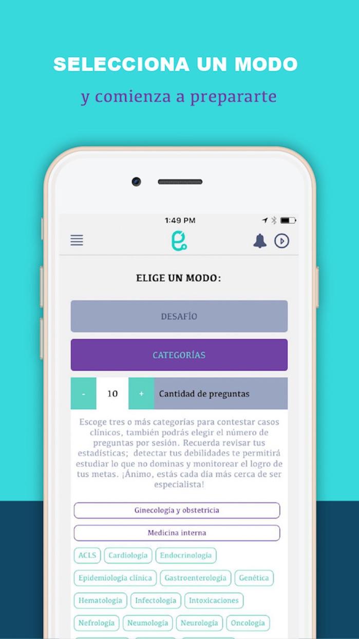 Reto ENARM Screenshot