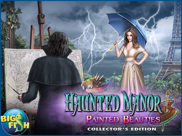 Haunted Manor: Painted Beauties HD - A Hidden Objects Mystery (Full) screenshot-4