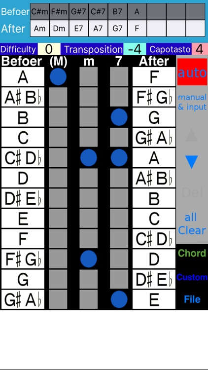 Guitar Chord Changer screenshot-1