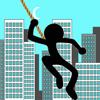 Fly Ninja With Rope S...
