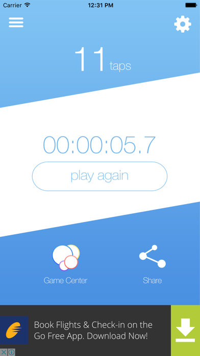 Don't Stop App screenshot three