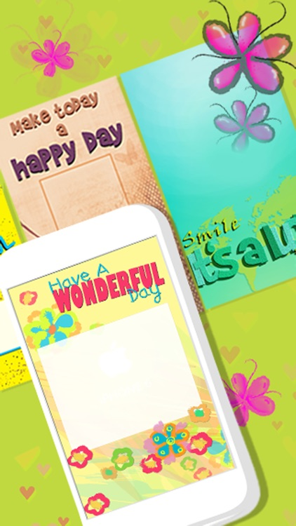 Greeting Cards Maker - Create 'Have a Nice Day' eCards and Invitation.s screenshot-3