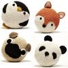 動物かぎ針編みパターン:玩具とパターン
