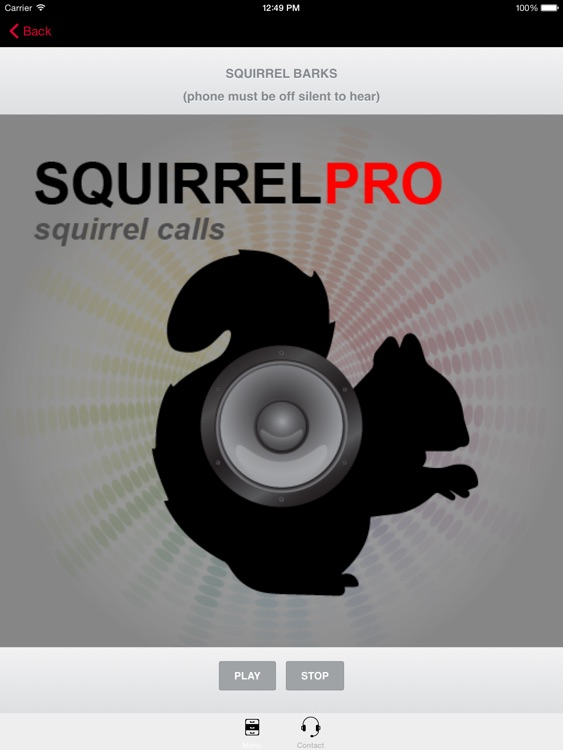 Squirrel Calls-SquirrelPro Squirrel Hunting Call screenshot-3