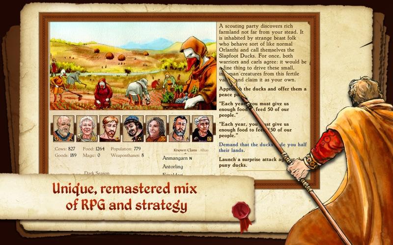 King of Dragon Pass screenshot 1