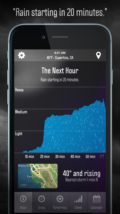 Weather Nerd - Forecasts & Radar screenshot-0