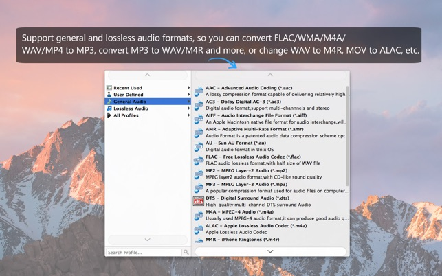 MP3 Music Converter Screenshot