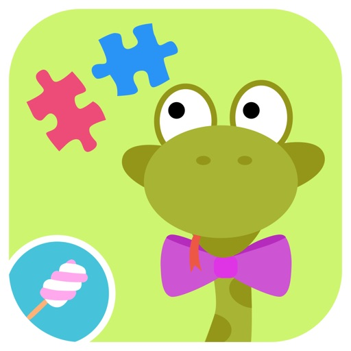 Math Tales Puzzle - The Jungle: Puzzles and stickers for kids