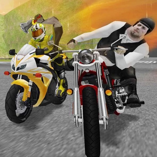 Moto Bike Road Rush : Figh-t Atta-ck Race 3d