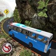越野警察巴士驾驶 - 交通运输警察与议定书的极端天气条件