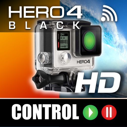 Remote Control for GoPro Hero 4 iOS App