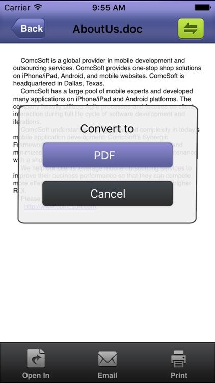 iConverter – PDF, Ringtone Converter screenshot-4