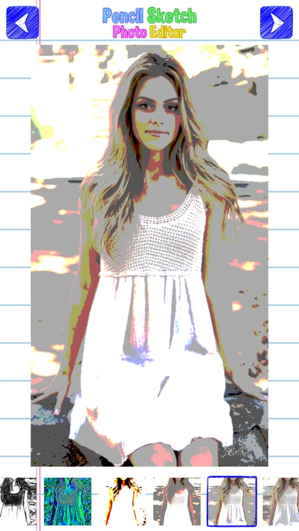 Pencil Sketch Photo Editor: Paint Beautiful Retro Picture.s like an Artist