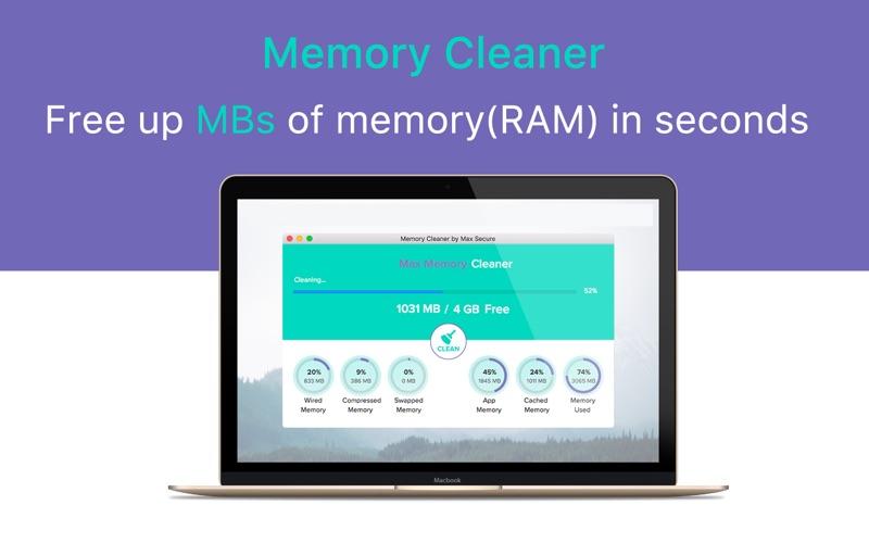 Memory Cleaner by Max Secure скриншот программы 1
