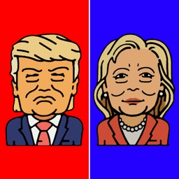 Trump vs Hillary - Presidential Race