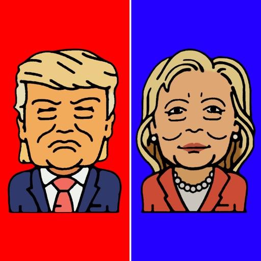 Trump vs Hillary - Presidential Race