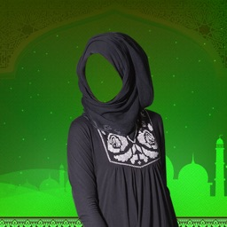 Hijab Woman Photo Montage Deluxe-Muslim Woman Drsess