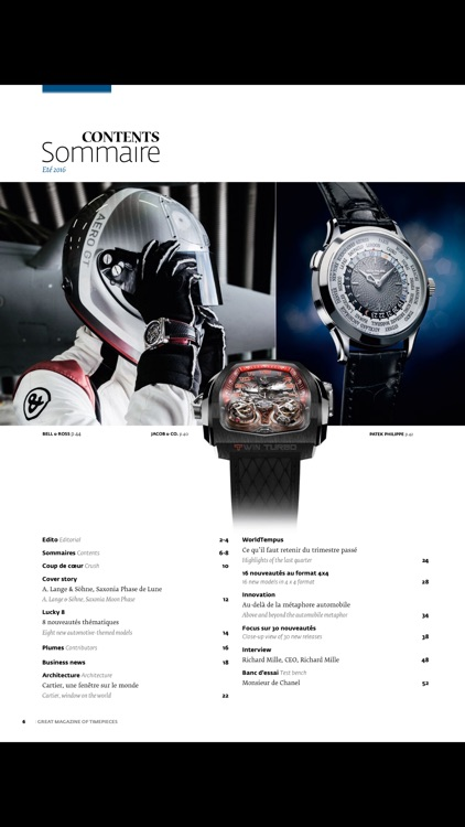 GMT, Great Magazine of Timepieces(French-English) screenshot-3