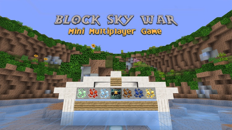 Block Sky War (Luck of the Draw) : Mini Game With Worldwide Multiplayer screenshot-0