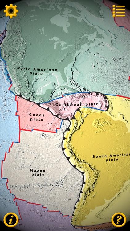 Plate Tectonics Visual Glossary and Atlas screenshot-3