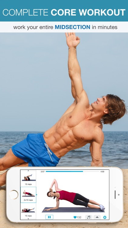 Easy Ab Workouts Free - Flatten and Tone Your Stomach and Back Fat screenshot-3