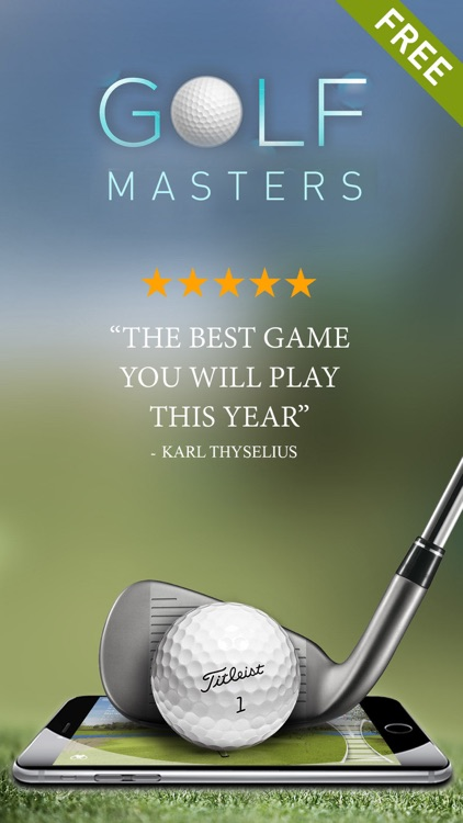 Free Golf Game - Masters Pro Tour screenshot-0