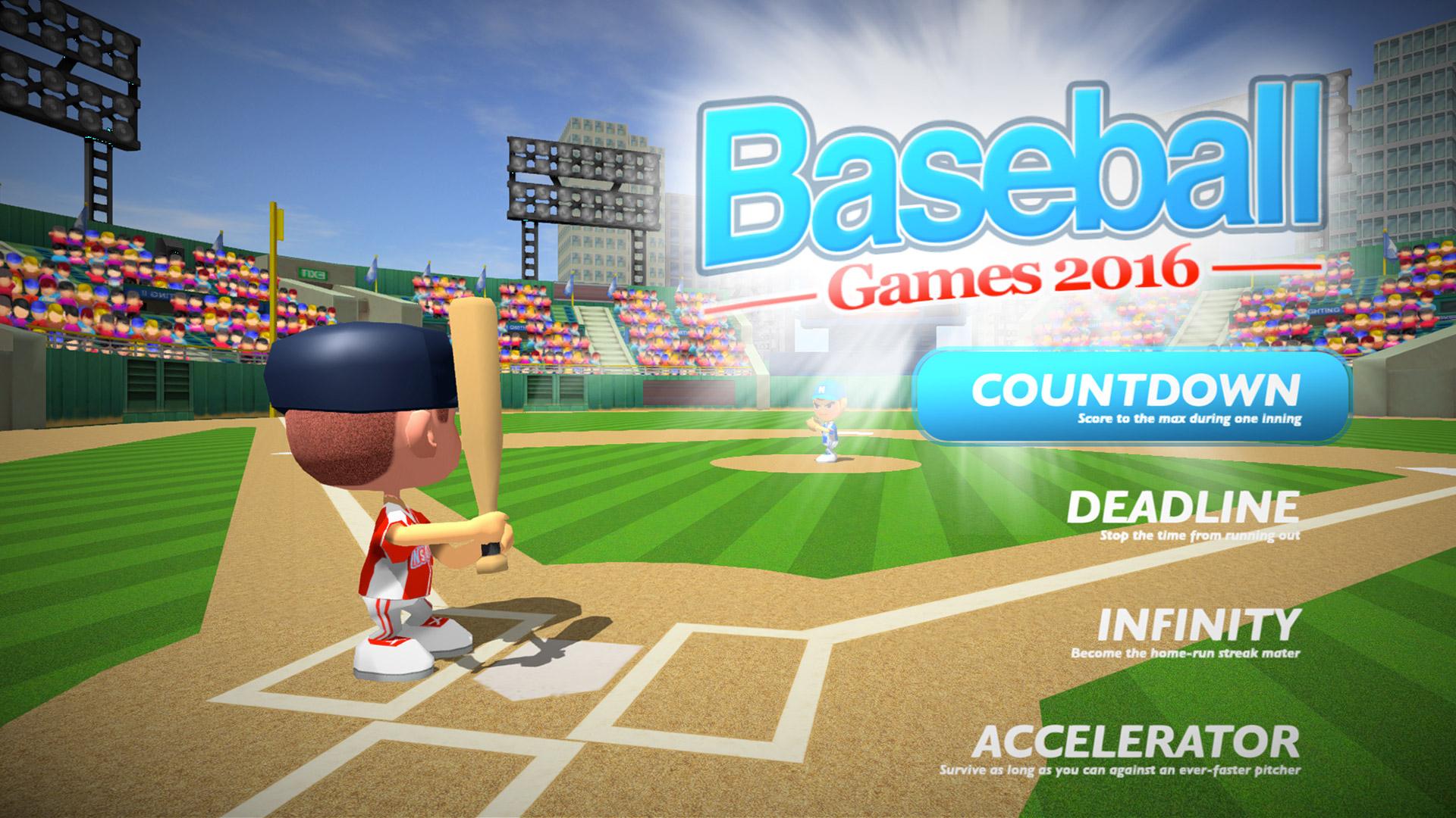 Baseball Games 2016 - Big Hit Home Run Superstar Derby ML screenshot 1