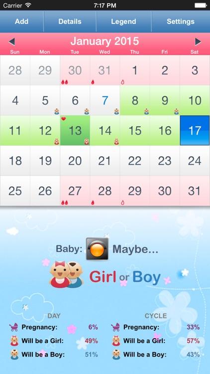 Menstrual Calendar for Women