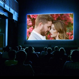 Movie Theater Photo Frames - Elegant Photo frame for your lovely moments