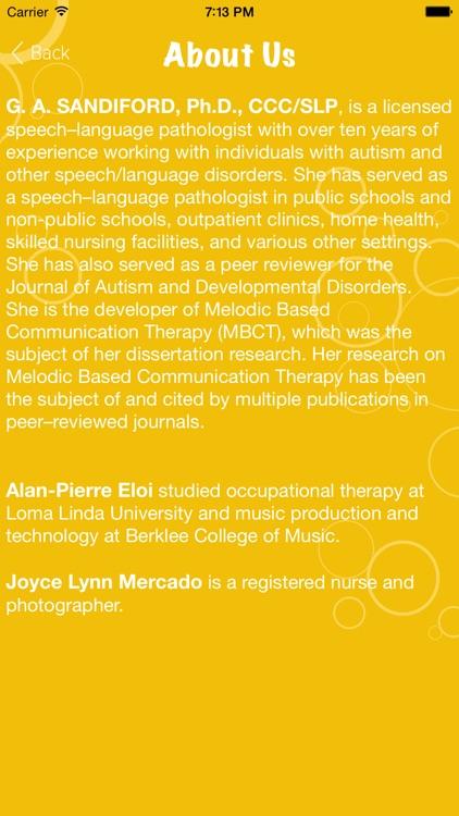Melodic Based Communication Therapy - Level 2 screenshot-4