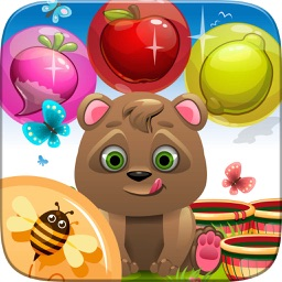 Fruit Bubble Shooter Deluxe - Addictive Puzzle Adventure Mania
