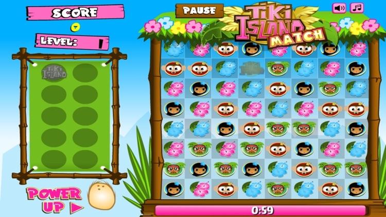 TiKi Island Match - A fun & addictive puzzle matching game