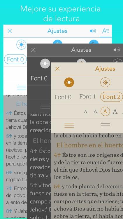 la Biblia, Spanish bible screenshot-3