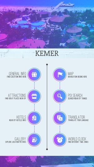 Kemer Tourism Guide on the App Store