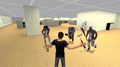 Office Assault - Cubicle Zombie Fighter screenshot three