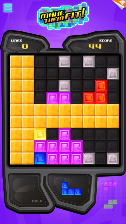 Make Them Fit! - Block Puzzle screenshot-3