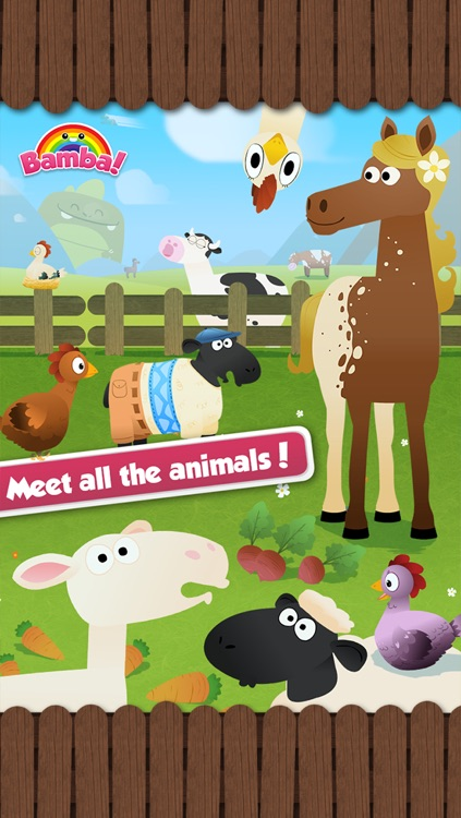 Bamba Farm (Free) - Learn about numbers and animals