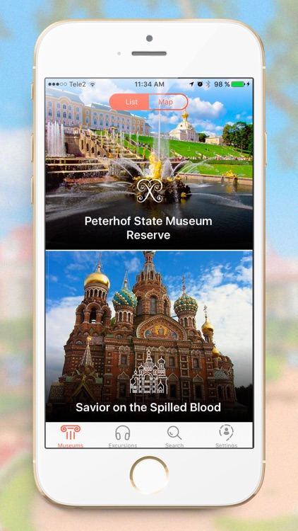 Indoor Guide - Museums Audio Guide St. Petersburg