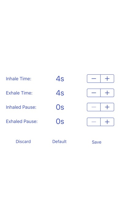 Breathe Easy - Paced Breathing Screenshot on iOS