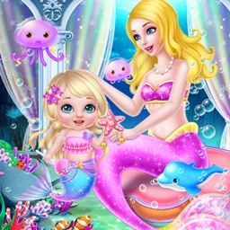 Mermaid Newborn Baby Care Nurse